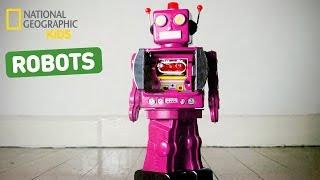 Nat Geo Kids Talk Robots!