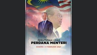 Perutusan Khas YAB Perdana Menteri (4 Feb 2021)