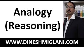 Best Shortcuts and Tricks to Analogy (Reasoning) for SSC CGL, SSC CHSL, IBPS PO, IBPS CLERICALS