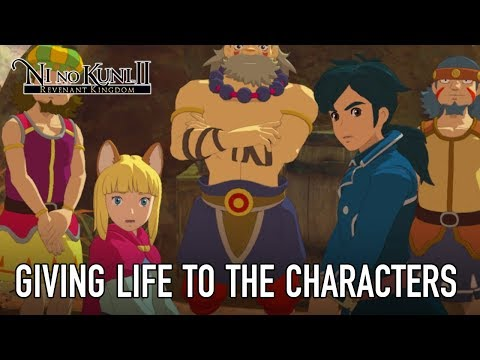 Ni No Kuni II - PS4/PC - Behind the Scenes 2: Giving life to the characters de Ni no Kuni 2 : L'Avènement d'un nouveau Royaume