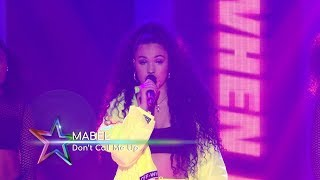 Mabel   'Don't Call Me Up' (Live At The Global Awards 2019)