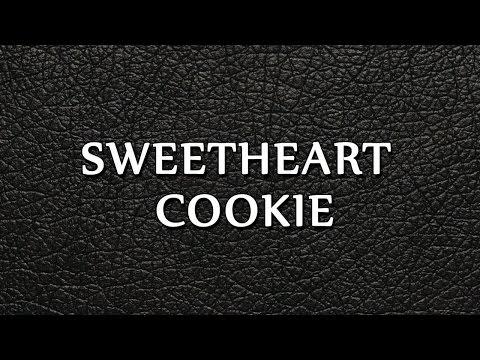 Sweetheart Cookie - EASY TO LEARN - RECIPES