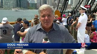 Celebrating 4th of July aboard USS Constitution