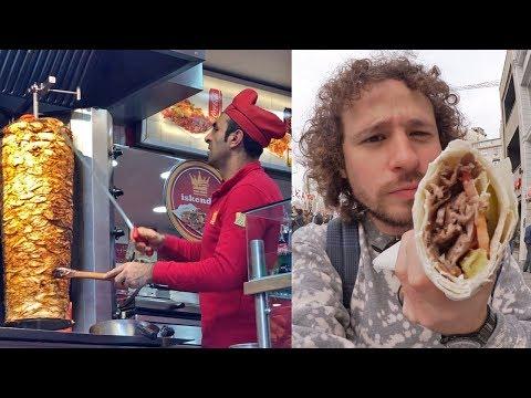 Probando comida callejera en TURQUÍA   ¿El origen de los tacos?