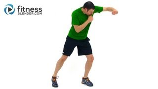 Kickboxing Workout Video - Trav
