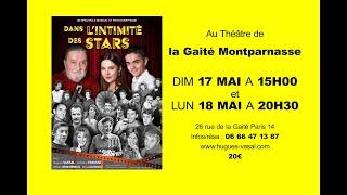 Dans l'intimité des Stars à Paris