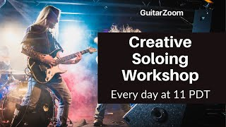 Creative Soloing Workshop Announcement