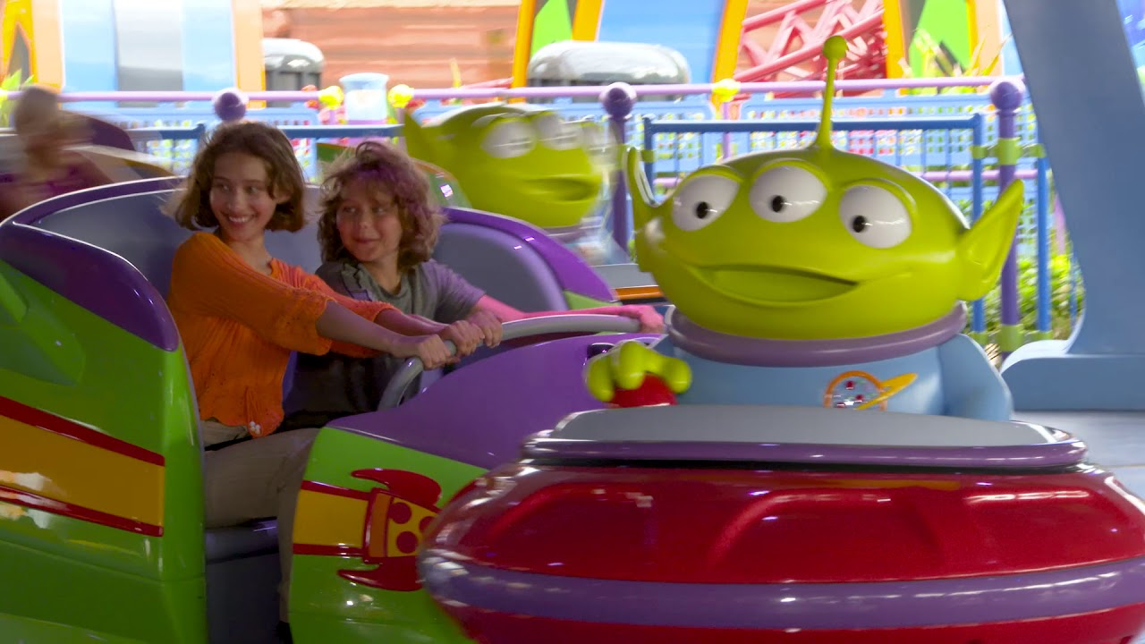 Slinky Dog Dash and Alien Swirling Saucers previews