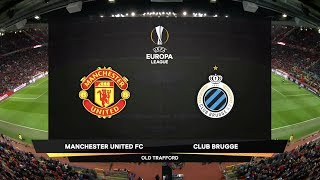 Highlights from the UEFA Europa League match between Manchester United and Club Brugge KV at Old Trafford in Manchester