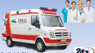 ICU Facility Ambulance Service in Patna and Muzaffarpur by King Ambulance