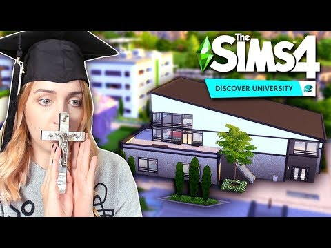 Can I fix the worst build in The Sims 4: Discover University?