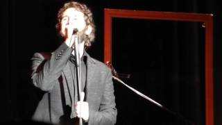 Josh Groban - Talking About His German Roots - 11.05.2016 Alte Oper Frankfurt