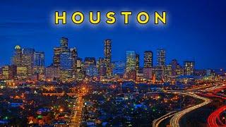 Houston By Night | Drone Footage | DJI Mavic Mini