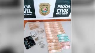 Tráfico de drogas. Polícia Civil encontra 650 gramas de maconha na casa de homem flagrado vendendo droga em Vazante