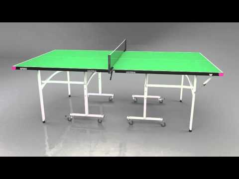 Butterfly Junior Rollaway Table Tennis Table - Video Presentation