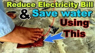 how-to-save-electricity-at-home-by-not-wasting-the-water-save-water-save-electricity-current-bill