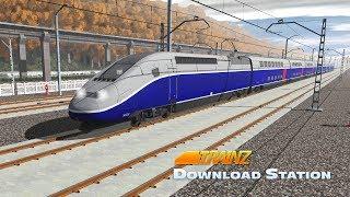 Download Trainz Simulator 2019 [ DLS Add-On ] - Alstom TGV