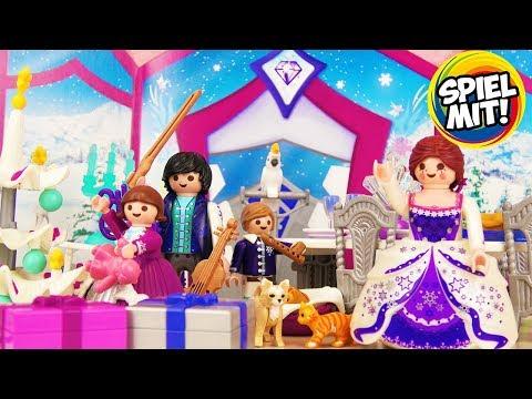 Playmobil Adventskalender 2018 Weihnachtsball im Kristallsaal -Alle 24 Tüchen geöffnet!Spiel mit mir