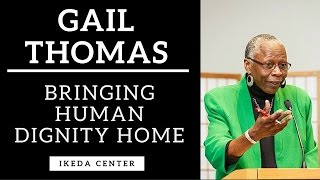Dr. Gail Thomas' remarks at the 12th Annual Ikeda Forum for Intercultural Dialogue,