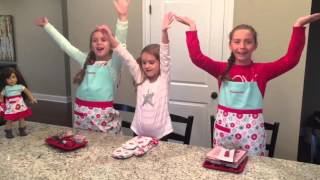 American Girl Williams-Sonoma Baking Party