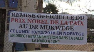 Les Congolais fiers du Dr Mukgwege, prix Nobel de la Paix