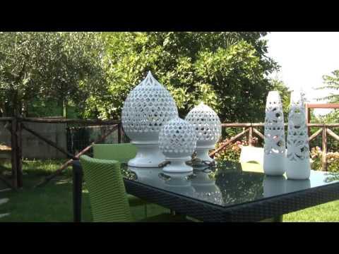 Maioliche d'Autore - Speciale illuminazione da tavolo e da giardino