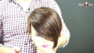 Celebrity Short Haircut Demo - Michelle Williams