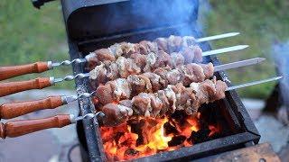 шашлык из свинины, мясо с рынка, сколько входит в Прадо.