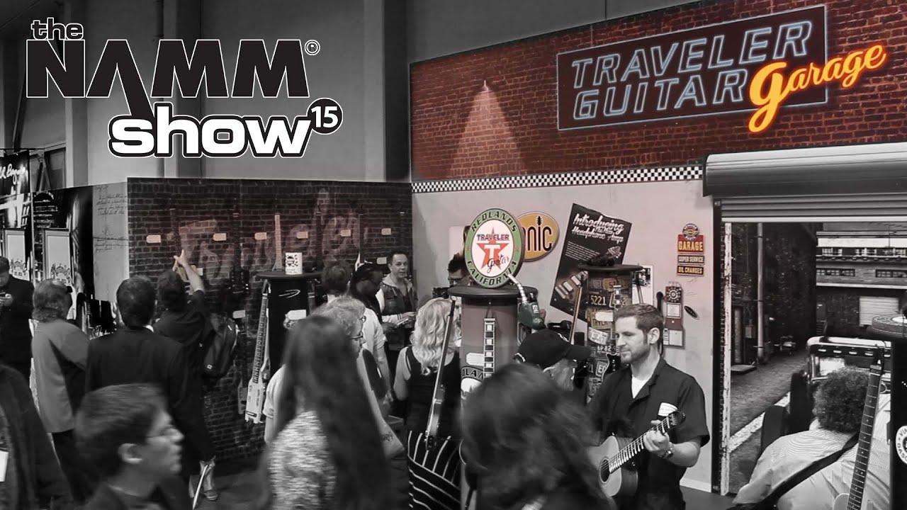 Traveler Guitar NAMM 2015 Recap