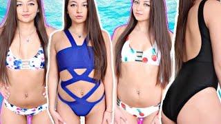 HUGE Swim Suit TRY-ON Haul 2017! ZAFUL!