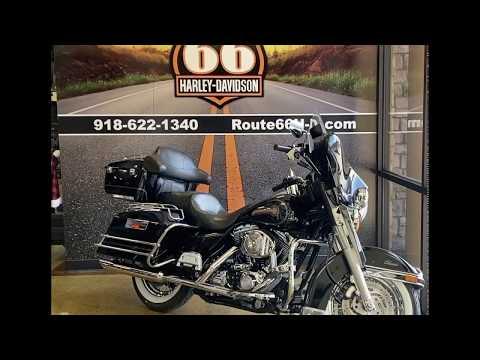 Vivid Black 2006  Harley-Davidson Electra Glide Classic®