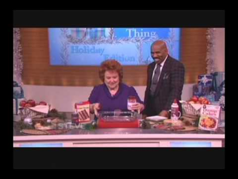Dump Cakes Recipe on the Steve Harvey Show
