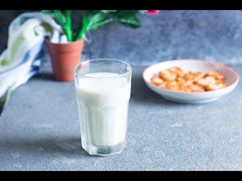 Soy Milk Recipe | How to make Soya Milk from Soya Beans