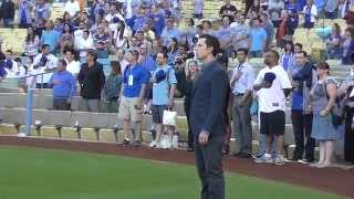 Los Angeles Dodgers Honors Don Newcombe: National Anthem Performance
