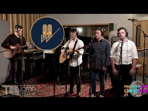 Mesivta boys singing at Project Inspire