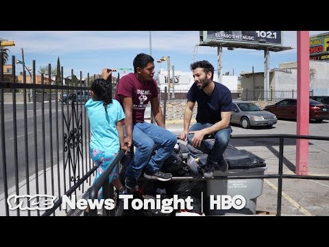 This Is Where Border Patrol Moved The Migrants Under The Bridge (HBO)