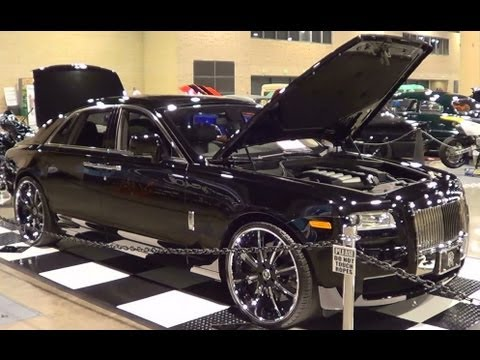 Customized Rolls-Royce Ghost
