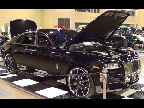 Customized Rolls-Royce Ghost