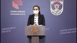 Press conference of the Foreign Ministry Spokesperson Anna Naghdalyan at the Armenian Unified infocenter