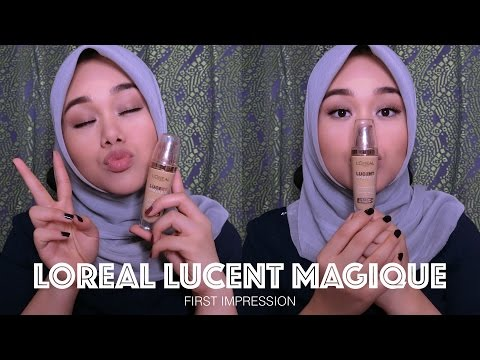 Loreal Lucent Magique Foundation   First Impression & Review   MakeupbyFatya