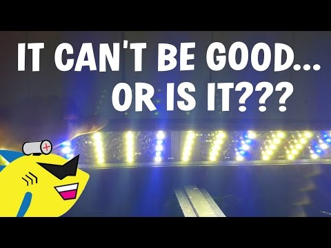 CHEAP AF – THIS LED CAN'T BE GOOD… OR IS IT?