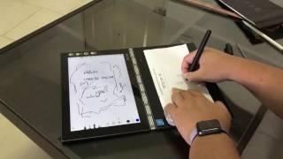 ทดสอบ Lenovo Yoga Book ด้วยปากกาจริง - dooclip.me