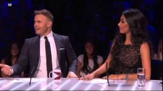 The Judges Get To See A 15yearold <b>Gary Barlow</b>