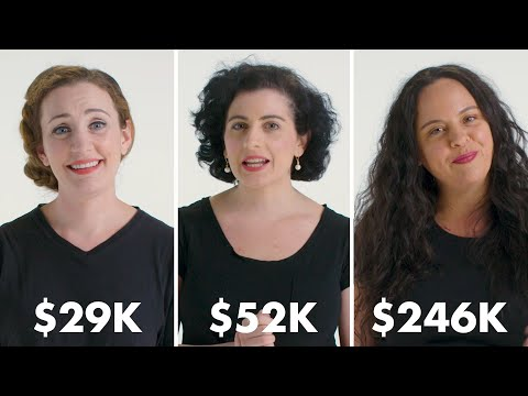 Women with Different Salaries on Their Biggest Money Anxiety   Glamour