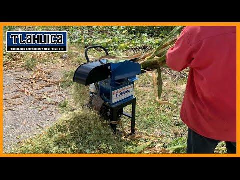 Molino Picadora  Tlahuica Pequeño De Forrajes Verde Y Seco  Motor PowerCat 6.5 Hp