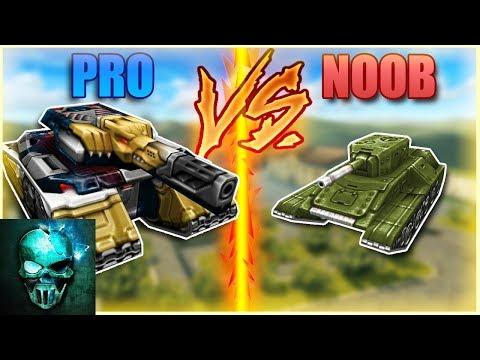 Pro vs Noob (funny video) - Tanki Online - Ghost Animator TO