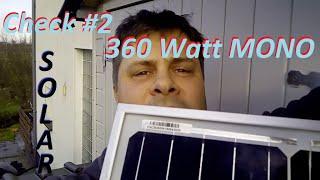 Was bringt ein 360 Watt Monokristallin Solarmodul im Februar #check #China #Solar #Photovoltaik