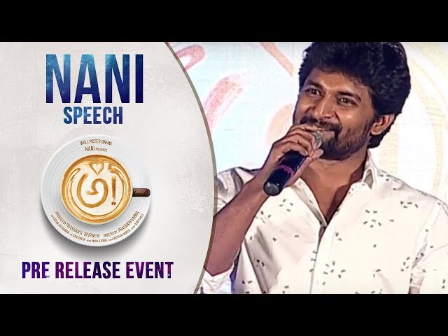 Hero Nani Superb Speech at Awe Movie Pre Release Event