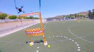 MI PRIMERA CARRERA DE DRONES! - Liga FPV Madrid 2018