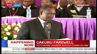 DP Ruto promises to move Kenya as one indivisible and stable country